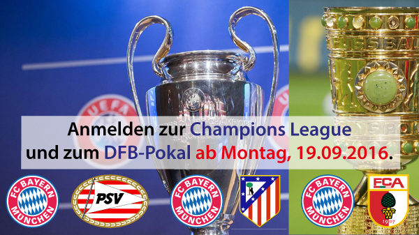 Champions League / DFB-Pokal